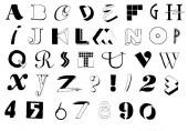 Fun Collage Alphabet Unmounted-0