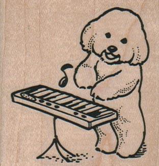 Bichon Keyboard 2 1/4 x 2 1/4-0