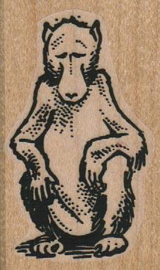 Sitting Monkey 1 1/4 x 2-0
