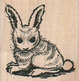 Sitting Bunny 2 x 2-0