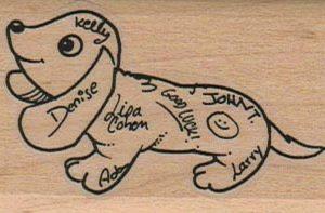 Autograph Hound 1 1/2 x 2 1/4-0