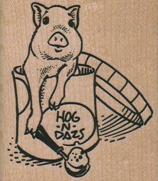 Hog N Dazs Pig 2 1/4 x 2 1/2-0