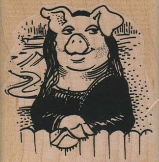 Mona Pig 2 1/4 x 2 1/4-0
