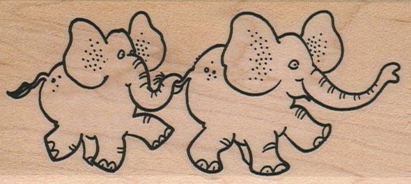 Elephant Pals 2 x 4-0