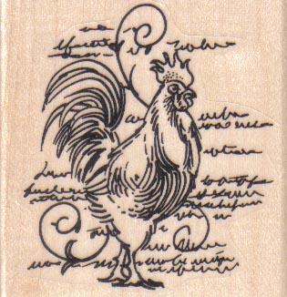 Chicken Scratchings 2 1/4 x 2 1/4-0