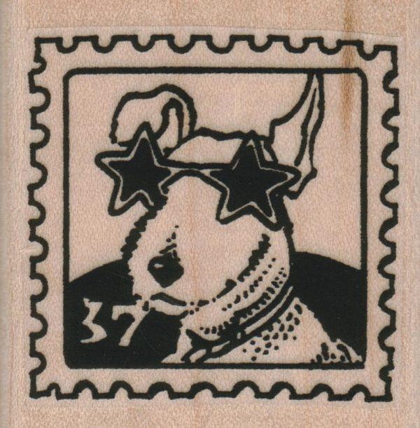 Way Kewl Terrier Postoid 1 3/4 x 1 3/4-0