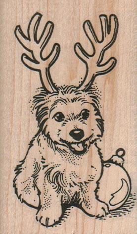 Bichon Reindeer Horns 2 x 3 1/4-0