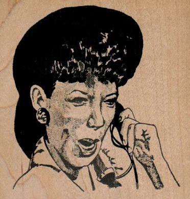 Telephone Operator/Large 3 3/4 x 3 1/2-0