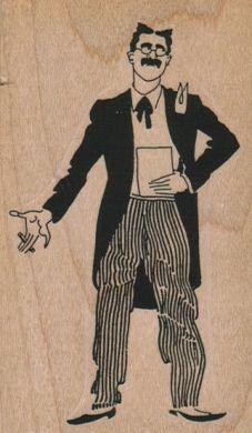 Cigar Man 2 1/4 x 3 3/4-0