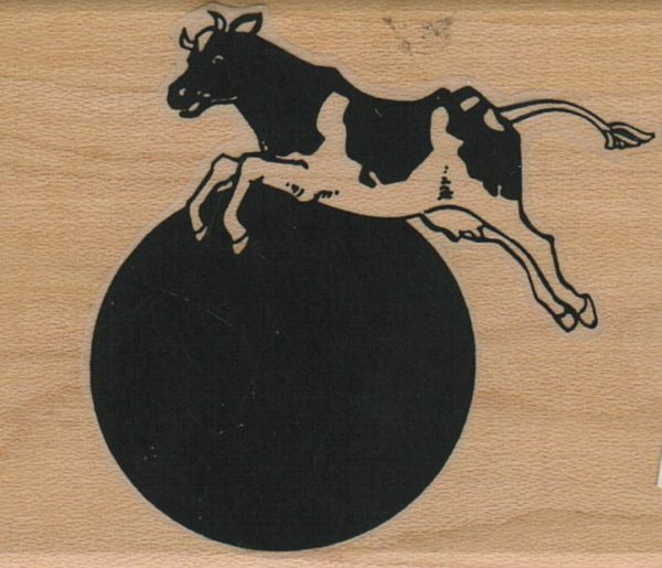 Cow Jumping Over The Moon 2 1/2 x 3-0