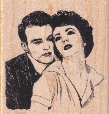 Young Lovers 3 1/2 x 3 1/2-0
