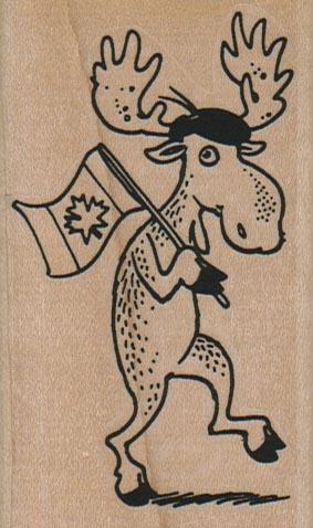 Canadian Moose 2 x 3 1/4-0