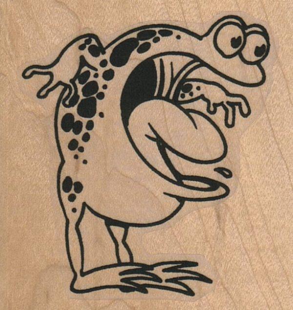 Astonished Frog 2 1/4 x 2 1/4-0