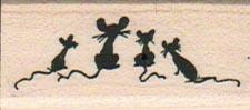 Four Mice Looking 3/4 x 1 1/2-0