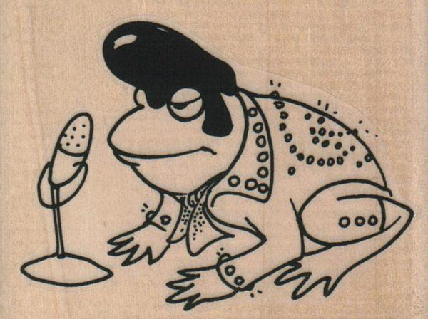 Frog Singer 2 3/4 x 2-0