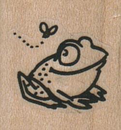 Happy Frog Eyeing Fly 1 x 1-0