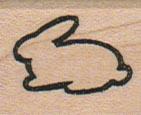 Bunny Outline 1 x 1-0