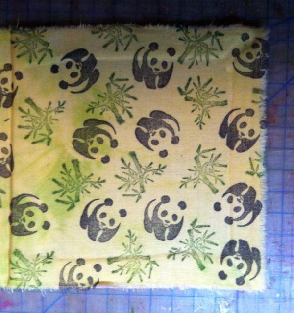 Panda Bear 1 1/4 x 1 1/4-37416