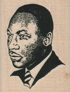 Martin Luther King 1 3/4 x 2 1/4-0