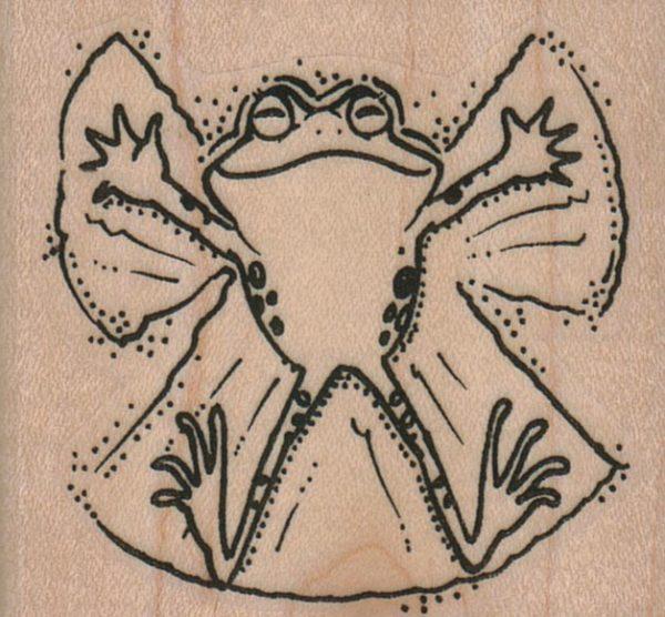 Frog Snow Angel 2 1/4 x 2-0
