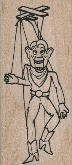 Howdy Doody Puppet 1 3/4 x 3 3/4-0