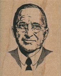 President Harry Truman 1 1/2 x 1 3/4-0