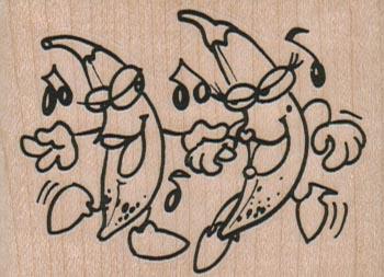 Dancing Bananas 2 1/2 x 1 3/4-0