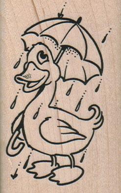 Umbrella Duck 1 3/4 x 2 3/4-0