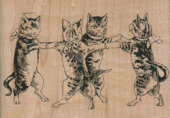 Cat Dance 3 3/4 x 2 3/4-0
