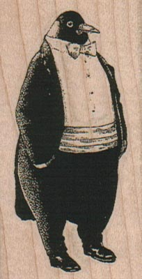Penguin Tuxedo 1 1/2 x 2 3/4-0