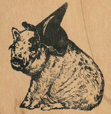 Pig Witch 2 1/2 x 2 1/2-0