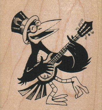 Singing Crow 2 1/2 X 2 3/4-0