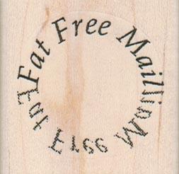 Fat Free Mail 1 3/4 x 1 3/4-0