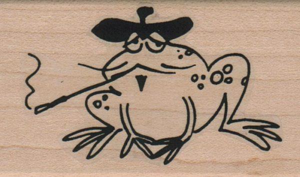 Frog In Beret 1 1/2 x 2 1/2-0