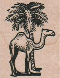 Camel And Palm Tree 1 1/2 x 1 3/4-0