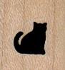 Tiny Cat Facing Right 3/4 x 3/4-0