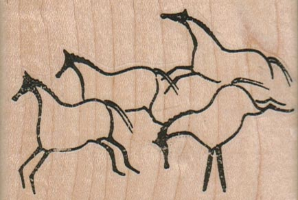 Horse Cave Paintings 3 x 2-0