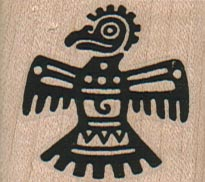 Incan Bird 1 1/2 x 1 1/4-0