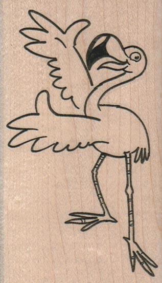 Presenting Flamingo 2 1/4 x 4-0