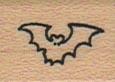 Tiny Silhouette Bat 3/4 x 3/4-0
