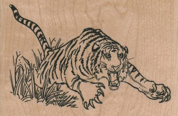Leaping Tiger 4 1/2 x 3-0