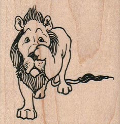 Cowardly Lion 2 1/2 x 2 1/2-0