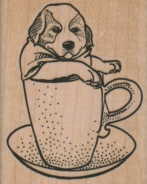Pup In Cup 2 x 2 1/2-0