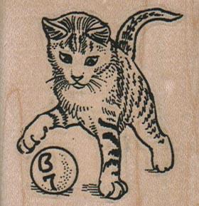 Bingo Ball Cat 2 x 2-0