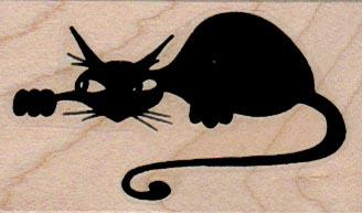 Stylized Cat 1 1/2 x 2 1/4-0
