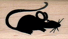 Mouse Silhouette 1 x 1 1/2-0