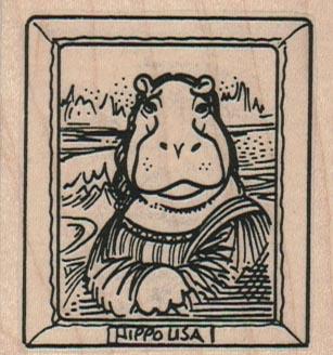 Mona Hippo 2 1/4 x 2 1/4-0