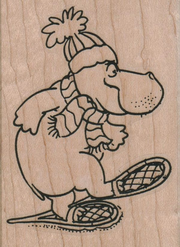 Hippo Snowshoeing 2 1/4 x 3-0