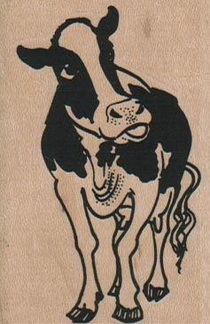 Cow Looking Up 1 3/4 x 2 1/2-0