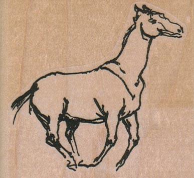 Running Horse 2 3/4 x 2 1/2-0